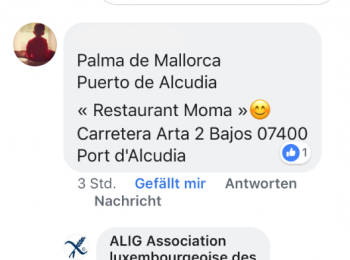 Adresse restaurant SG recommandé à Majorque